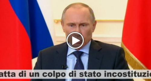 Putin fa gli interessi del suo popolo, al contrario dei politici italiani